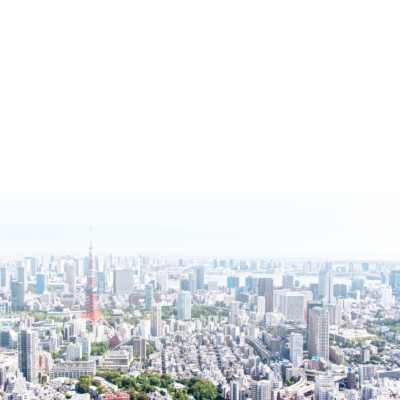 東京空撮風景