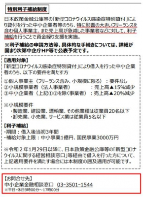 日本 政策 金融 公庫 特別 貸付 と は